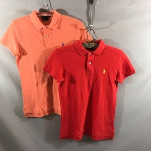 Ralph Lauren the skinny polo lot of 2